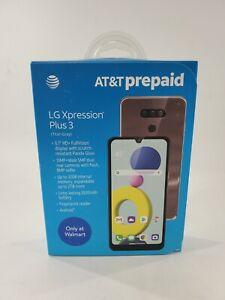 Unlocked LG Xpression Plus 3 LM-K400AKR 32GB 4G LTE AT&T GSM World Phone Sealed