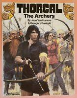 THORGAL THE ARCHERS ~ VF/NM 1987 GRAPHIC NOVEL COMIC ~ JEAN VAN HAMME & ROSINSKI