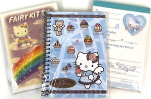 RARE Sanrio Hello Kitty Lot Of 3 x Angel Fairy Memo Note Pads~BNIP~NEW~2000-03