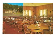 Vintage Postcard Torch Steak House LaVale Maryland Interior & Exterior