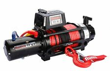 Runva 13XP PREMIUM 12V with Synthetic Rope - full IP67 protection 10872750482