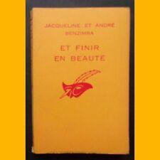 Collection Le Masque EN FINIR EN BEAUTÉ J. et A. Benzimra 1964