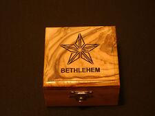 Fair Trade Handcrafted Bethlehem Wood Box (jewelry holder)