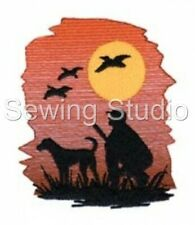 HUNTING 2 DESIGNS - MACHINE EMBROIDERY DESIGNS ON CD OR USB