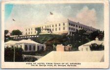 St. George's, BERMUDA Postcard ST. GEORGE HOTEL Hand-Colored Unused