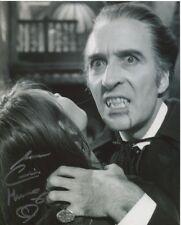 Caroline Munro photo signed In Person - Dracula A.D. 1972 - C107