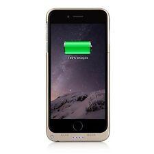 4800mAh External Battery Case Power Bank GLD + Kickstand/LED Indicator iPhone 6+