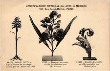 CPA PARIS (3e) Cnam - Fleurs en fer forgé (215293)