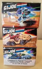 Gi Joe Tissue Paper Pack Of Six 1988 G.I. Joe 3.75In Arah Vintage New Mint