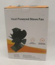 Heat Self-Powered (Black) Stove Fan *NEW & UNUSED* Comes in Original Box - Y90