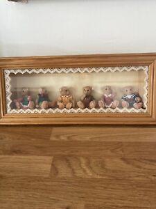 Vintage Teddy Bear Picture Frame
