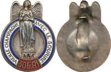 306° Régiment d'Infanterie, émail, signe TSCHUDIN.Sculp. Mourgeon (4309)