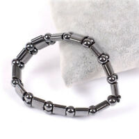 Hematite Magnetic Black Healing For Man Women Loose Beads Bracelet Jewelry