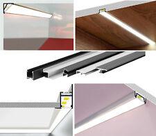 LED Aluminiumprofil Alu Profil für LED Band Leiste Stripe Schiene NEU! 9000Slide