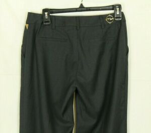 Eight Sin Women's Dress Pants Gray Pinstripes Size S