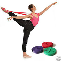 1pcs Soft Power Pull Up Ballet Band Dance Yoga Gym Ligament Training Stretching
