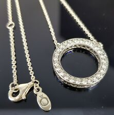 Pandora Hearts of Pandora 45cm Silver Reversible Necklace 590514 CZ Free Postage