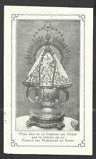 image pieuse ancianne de la Virgen de la Caridad del Cobre  holy card estampa