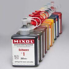Mixol G-10 Satz Abtönfarbe Abtönkonzentrat Pigment 10 x 200ml