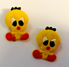 Tweety Bird PVC Shoe Charm Set