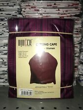 Barber Cape Gown Purple Lined Salons Hairdressers Hair Cutting Capes Premium