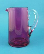 Cranberry Art Glassware Date-Lined Glass