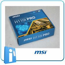 Placa base mITX H110 MSI H110i PRO Socket 1151 con Accesorios
