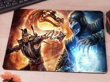 Mortal Kombat Sub Zero Scorpion Game Gaming antislip Mac PC laptop mouse mat pad