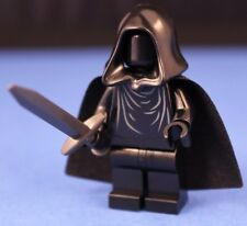 LEGO® LORD OF THE RINGS™ RINGWRAITH™ Custom Minifigure + Black Cape & Dark Sword