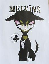 The Melvins Mini-Concert Poster Reprint  14x10