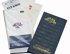 Reproduction Titanic Linen Napkins in Presentation Box and Certificate