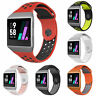 For Fitbit Ionic Replacement Dual Color Silicone Wrist Band Watchband Strap Flow