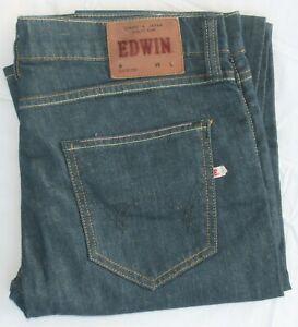 EDWIN ED-88 Super Slim Stretch Denim High Quality Jeans Men's Size 33
