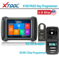 XTOOL X100 PAD3 With KC501 Chip Programmer OBD2 Odometer Correction Diagnostic