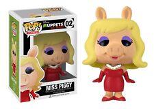Funko Pop The Muppets #02 Miss Piggy Vaulted Vinyl Figure Fast Post