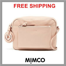 085e48be540d Mimco Supernatural Small BOX HIP Hand Bag Leather Handbag Pancake Crossbody  DF