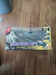 The Batman Animated Series 3-In-1 Batjet Vehicle Mattel H1317