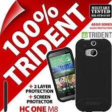 Trident Aegis étui protection Robuste Housse + Protège Écran Pour HTC One M8