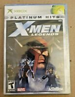 X-Men Legends - Microsoft XBOX Platinum Hits - BRAND NEW SEALED GAME