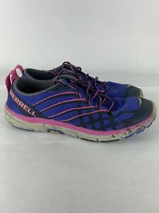 Merrell Women's Shoe SIze 7.5 Barefoot Run Arc 2 Vibram Dazzling Blue