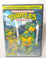 Teenage Mutant Ninja Turtles: Season 3 (DVD, 2013, 4-Disc Set) NEW