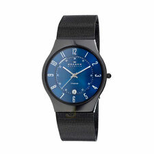 Skagen Quartz (Battery) Titanium Strap Round Wristwatches