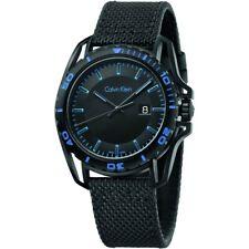 NEW Calvin Klein K5Y31YB1 Earth Black Dial Men's Watch UK SELLER WARRANTY