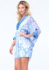 NWT Bebe Morgan Print Jacquard Dress Sz M