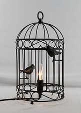 Bird Cage Lamp Black IT210