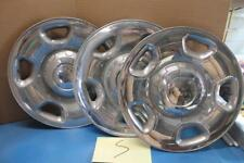 "LOT 3 Ford F150 17"" Chrome Wheel Skin 5 Spoke Hub Cap Rim Cover Steel Wheels Lug"