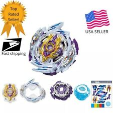Rage Longinus Beyblade B-168 Superking USA SELLER! + L/R Launcher