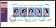 FDC - New Zealand - 1977 Elizabeth II, Silver Anniversary 1952 First Day Cover
