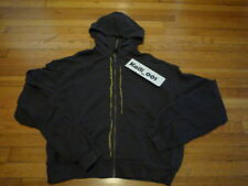 Haider Ackermann Perth Hoodie Size XL Anthracite Embroidery Gold B
