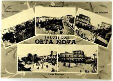 Cartolina Saluti Da Orta Nova Scritta Non Viaggiata